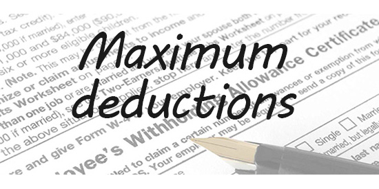There are so many deductions you can claim when you are a US expat, living and working overseas. Just to name a few, you can claim itemized deductions such as State income taxes..