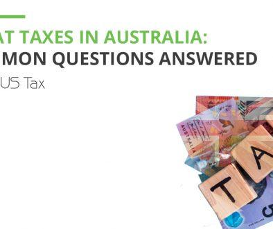 Taxes in Australia