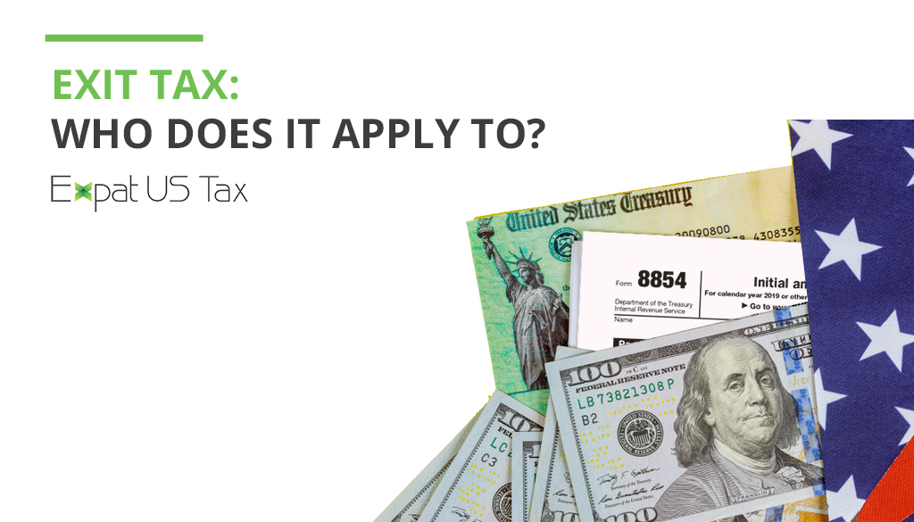 Exit Tax for American expats
