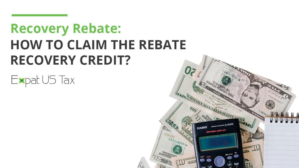 Recovery Rebate Credit and Stimulus Payments