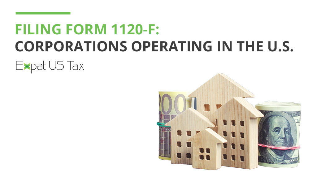 Form 1120-F for Expats
