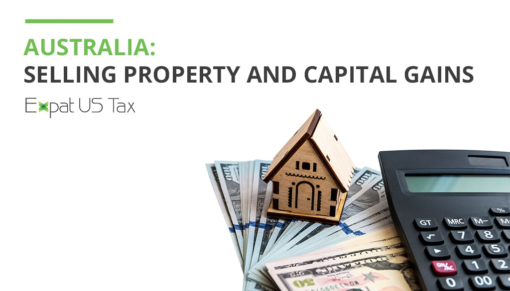 Selling Property & Saving Taxes in Australia